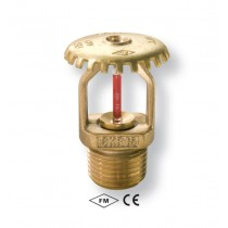 "SPRINKLER UPRIGHT BRONZ 3/4"" 141°C"