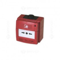Buton de incendiu conventional ANTIEX Bentel MCP220EX, IP67, LED