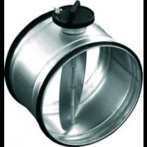 Clapetă circulară de reglaj cu mâner Ø100