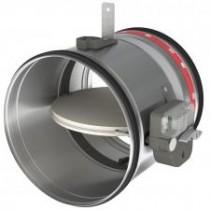 Clapeta circulara rezistenta la foc 2H cu fuzibil Ø100