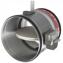 Clapeta circulara rezistenta la foc 2H cu fuzibil Ø125