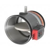 Clapeta antifoc circulara cu servomotor ONE-T D 100 mm