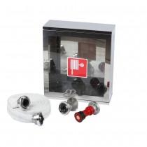 Cutie hidrant 570x500x180mm INOX robinet aluminiu