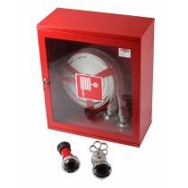 Cutie hidrant Minibox 500x500x140mm robinet aluminiu - deschidere usa 180°