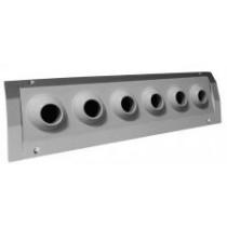 Difuzor multi duze pentru tubulatura 400x200mm