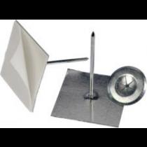 Pini de fixare izolație pe tubulatură, autoadezivi, CD pentru izolatie de 25 mm grosime