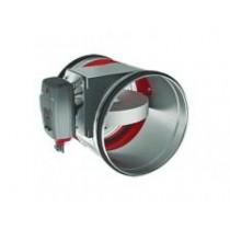 Clapeta antifoc circulara cu servomotor ONE-T 230V D 400 mm