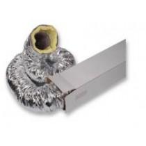 Tubulatura flexibila izolata fonic si termic Ø160