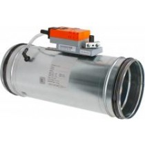 Regulator de debit de aer circular cu actuator VAV-CSB 200